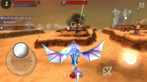 sky assault 3d apk mod